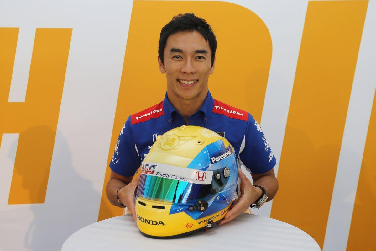 【佐藤琢磨】「No attack No chance」日本人最強ドライバー!攻めの走りで2016年も大注目!