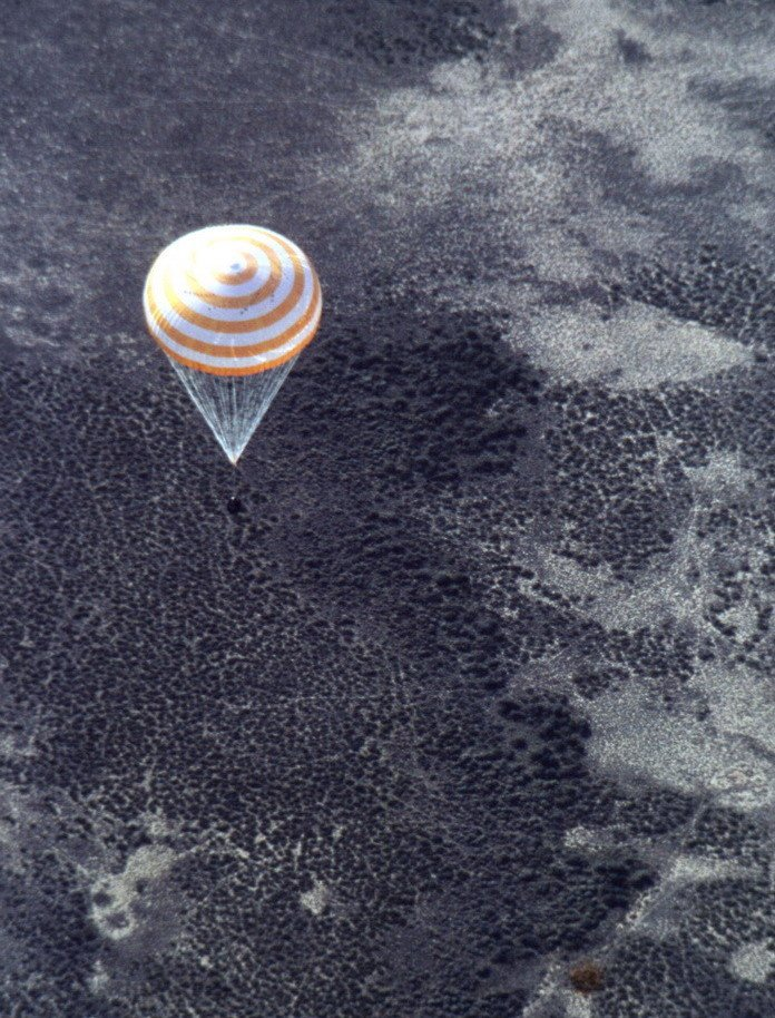 Image result for soyuz t-4 landing