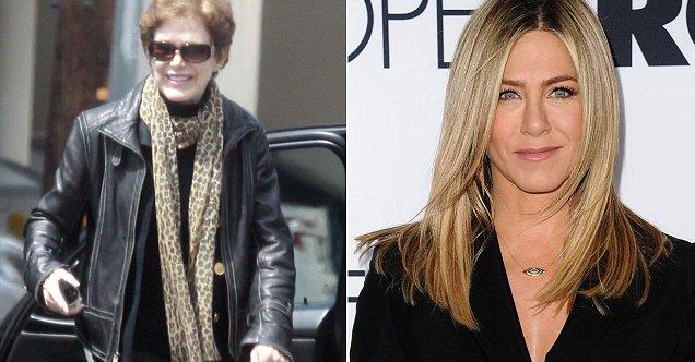 Nancy Dow e sua figlia Jennifer Aniston