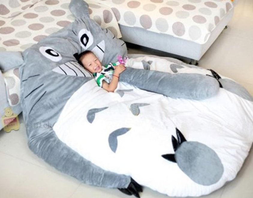 Remarkable Lauren On Twitter Omg I Need This Giant Totoro Bean Bag Ocoug Best Dining Table And Chair Ideas Images Ocougorg