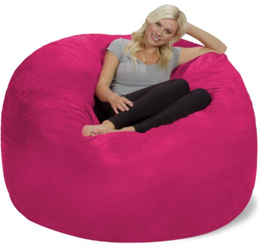 Astounding Lauren On Twitter Update I Ordered A Giant Pink Bean Ocoug Best Dining Table And Chair Ideas Images Ocougorg