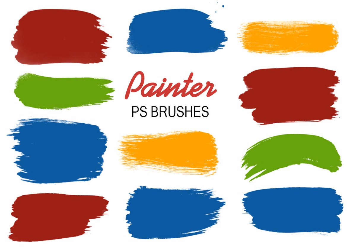 20 Painter #Photoshop Brushes https://t.co/GNKKClIvT9 https://t.co/eeguPdAdyL