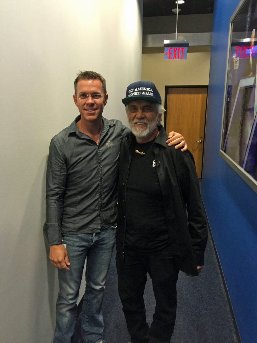 Comedian Tommy Chong is 'Feeling the Bern'