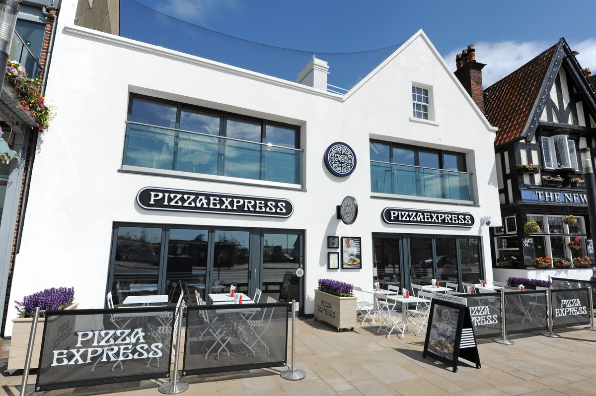 Gary Bluff Projects On Twitter Pizza Express Scarborough