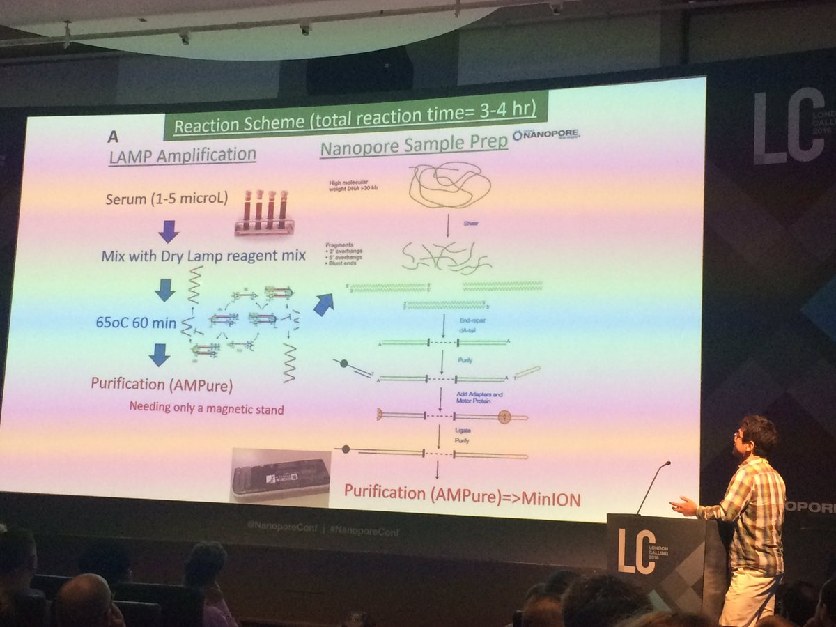Suzuki presenting their LAMP amplification #nanoporeconf https://t.co/bUaKaMvX9r