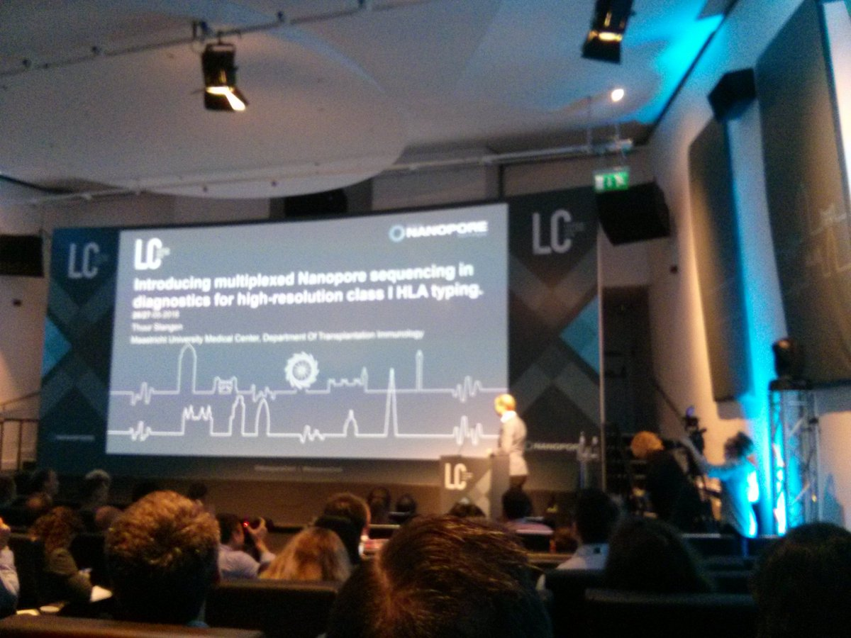 Thuur's first slide looks great.  Looking forward to the rest after coffee.  #NanoporeConf https://t.co/0nbpUNTpBP