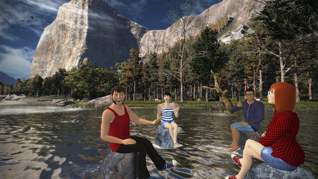 Combine Your Photographic Memories with VR Socialising in vTime
