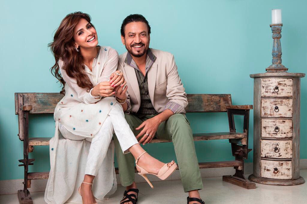 First Look of Irrfan Khan and Saba Qamar from Hindi Medium