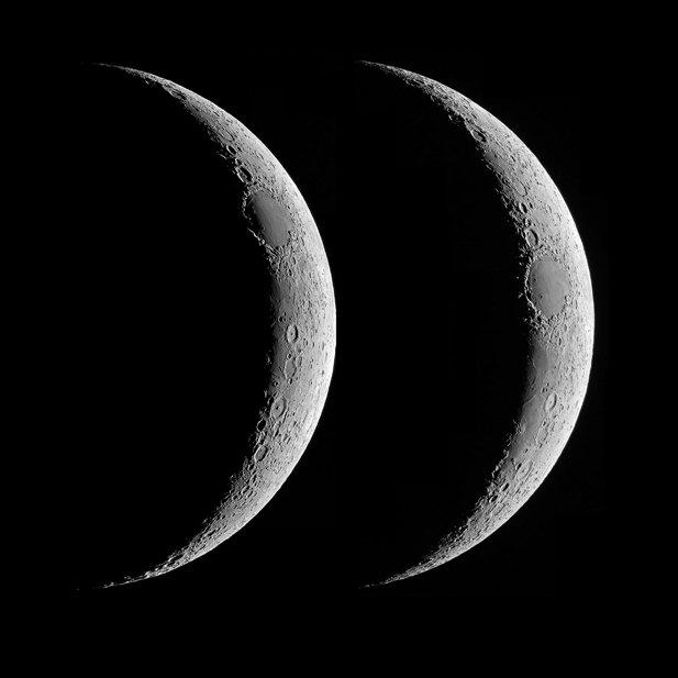 同じ三日月でも秤動によりこんなに見え方が違ってくるんですね。明日の塩田先生の講座では、このような月の撮影を面白さを紹介してくれます。受講申込みは直前まで行っています。 https://t.co/gFl5QlabUC https://t.co/eYWDptxycM