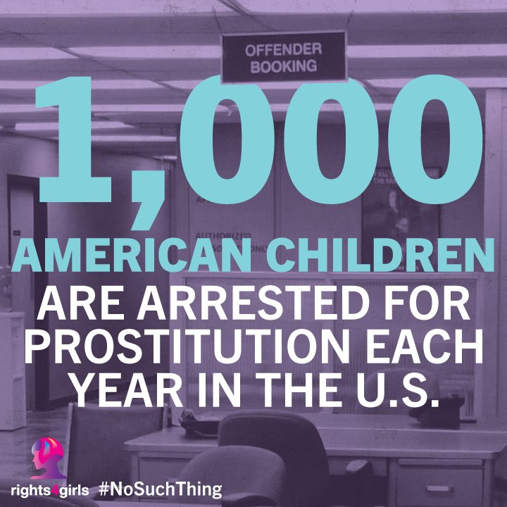 RT @rights4girls: There is #NoSuchThing as a child prostitute! They are victims of child rape! https://t.co/qqPJraW72w