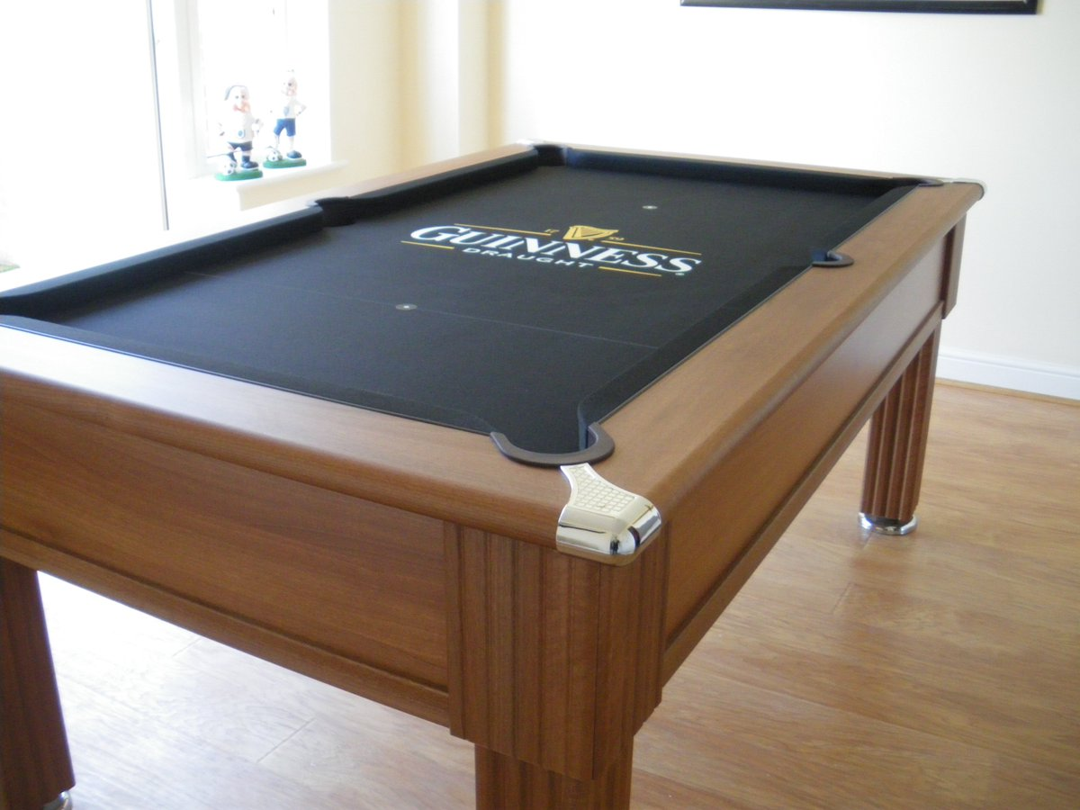 IQ Pool Tables On Twitter An IQ Custom Pool Cloth This Time With - Guinness pool table