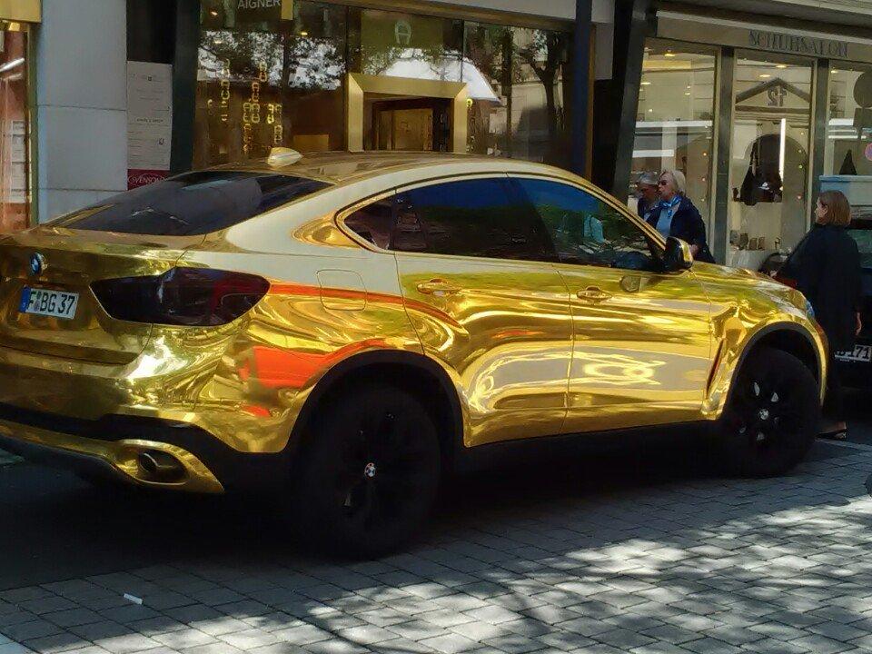 Sergej Ivanov On Twitter Gold Bmw X6 Frankfurt Goethestrasse
