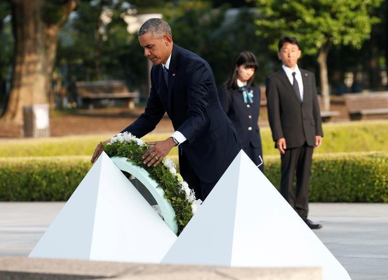 【軍縮】オバマ米大統領が現職初の広島訪問、核なき世界訴え慰霊碑に献花|ニューズウィーク日本版 https://t.co/NPdt7Du0y9 #オバマ #広島