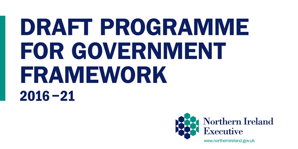 Draft Programme for Government Framework 2016-21 launched - https://t.co/e1TcNZeY92 #PfG2016 https://t.co/xS5fQI7UZC