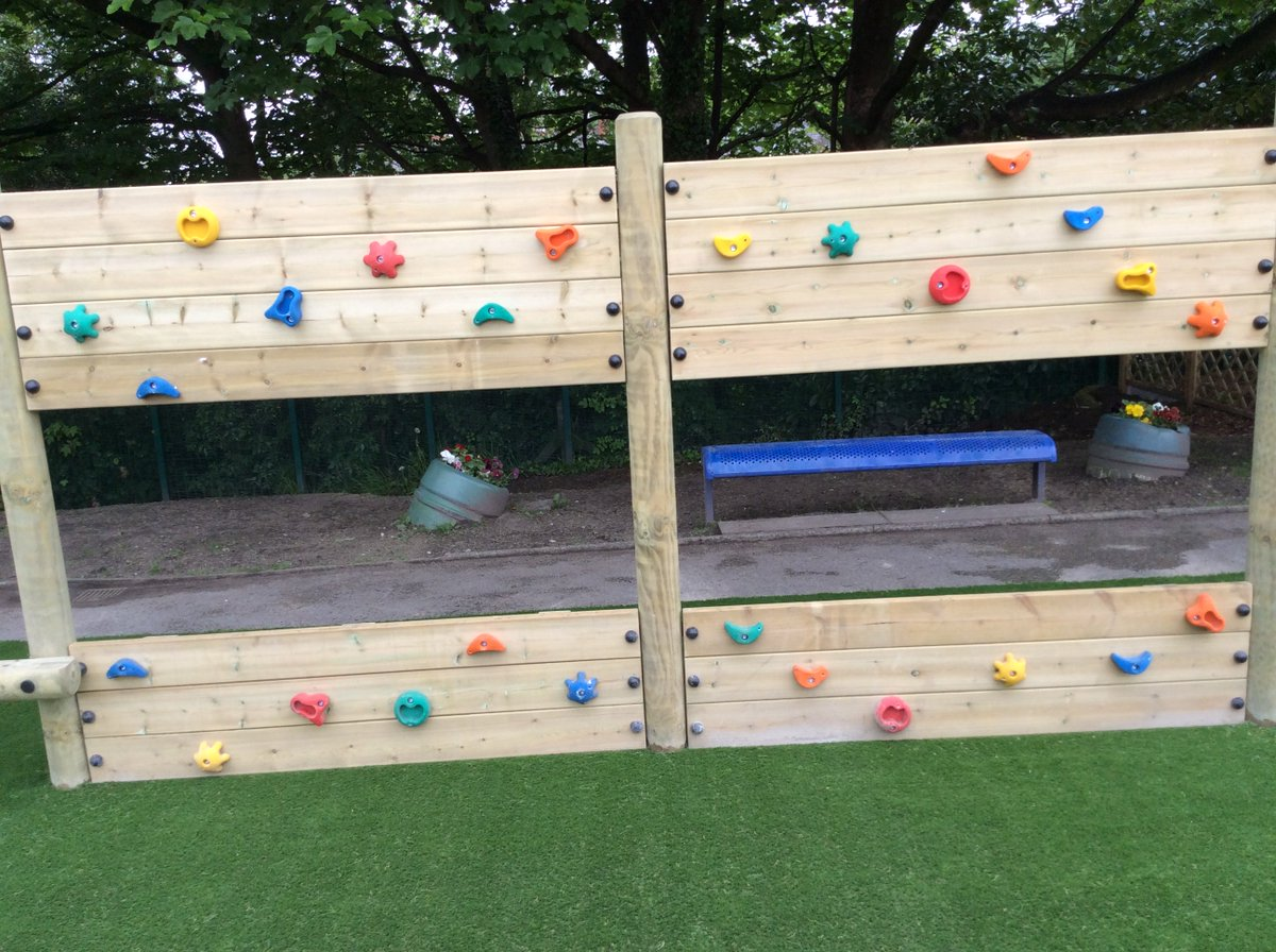 We officially opened our KS2 play area today, provided by funds from awards for all.