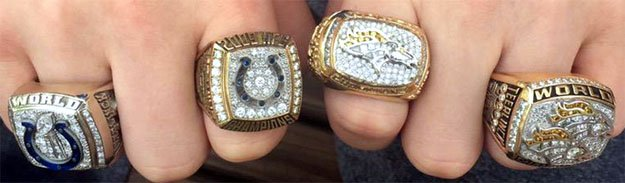Here are the extravagant rings given to Super Bowl champions over the years - Business Insider