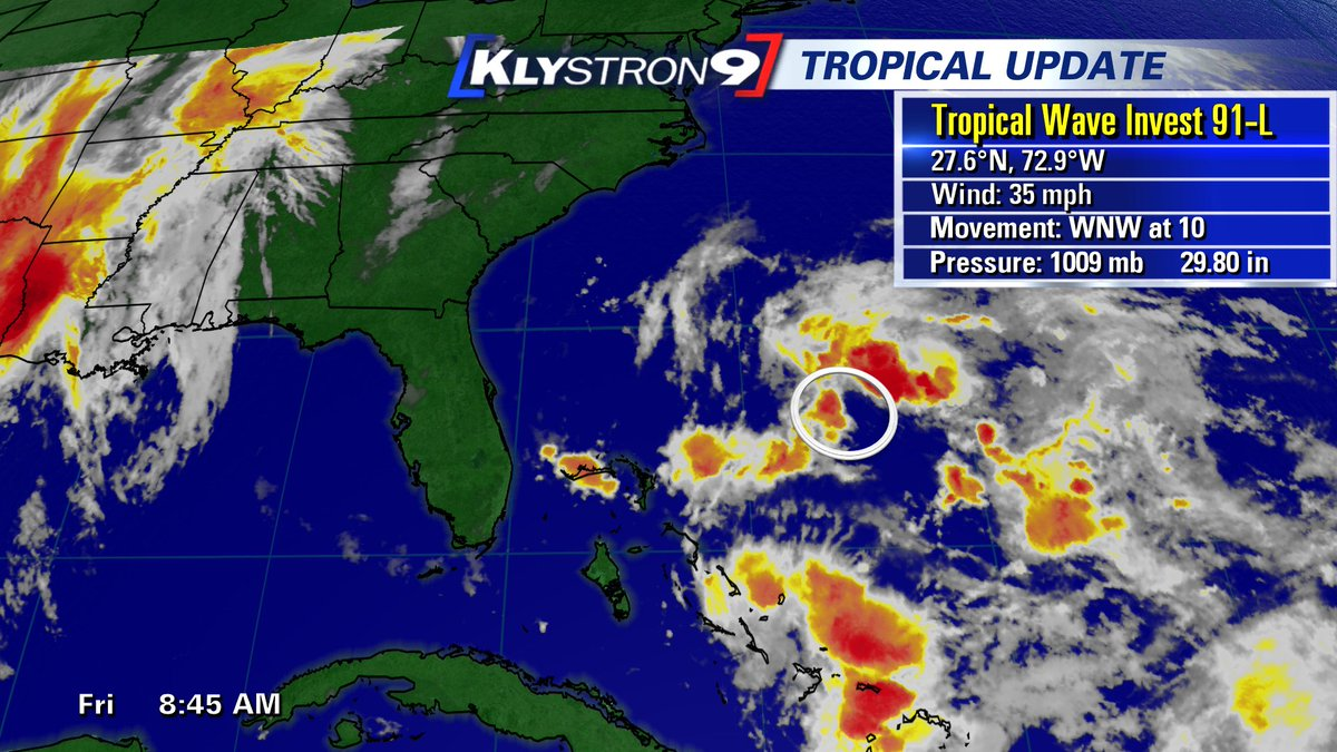 TROPICS: System in Atlantic won't impact Bay area