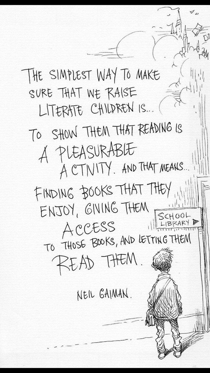 To all those who continue to fiercely defend a child's right to read: Thank You! #growareader  #librariestransform https://t.co/wmlSySIV58