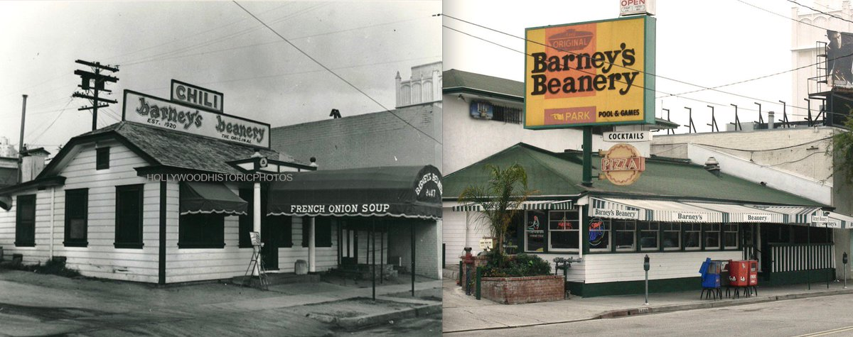 #flashbackfriday to #LosAngeles during the 20's, when #barneysbeanery in #WeHo first opened! #stillgotit https://t.co/RynmOpB2pS