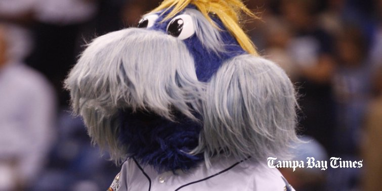 Marlins' Fernandez takes aim at Rays' mascot — maybe literally