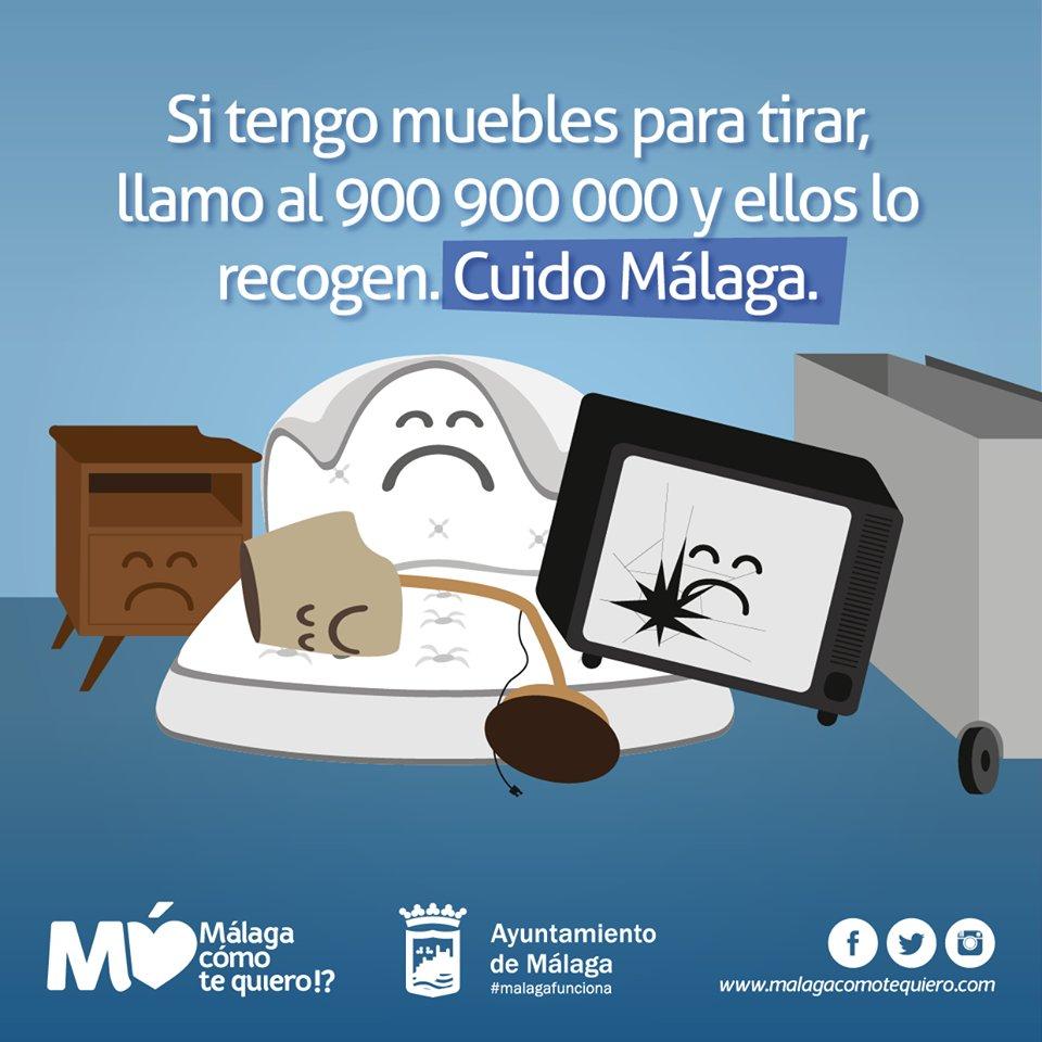 Recogida De Muebles Malaga Gratis Top Affordable Vaciado De Pisos  # Muebles Velazquez Malaga
