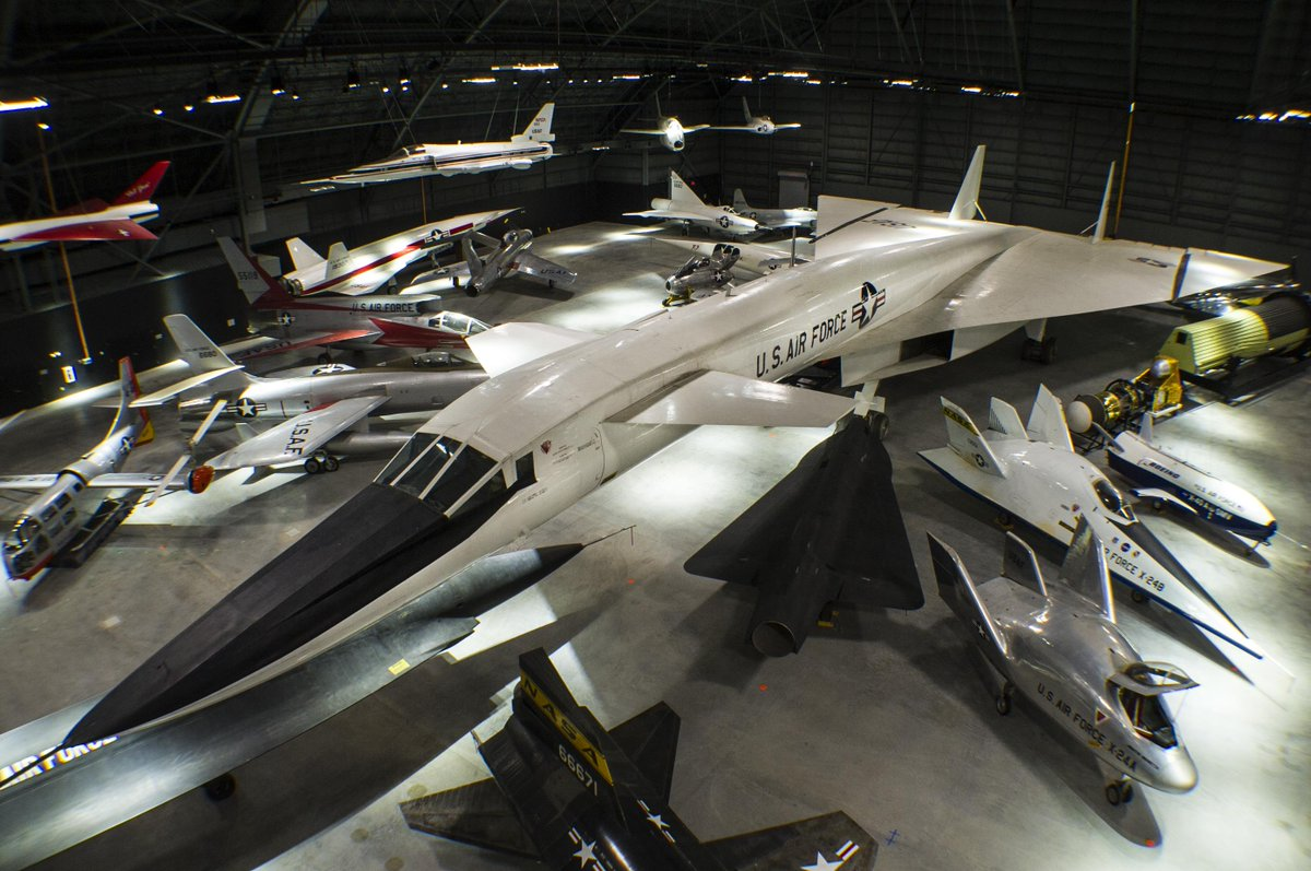 In 12 days, gaze in wonder at world's only remaining XB-70 - sure to be popular attraction in #4thbldg #R&D Gallery. https://t.co/aPkaZIiu0F