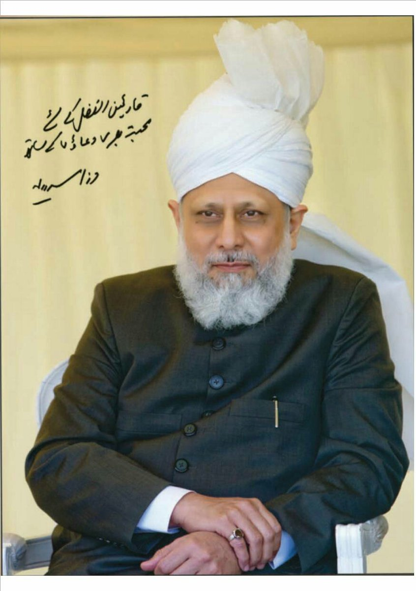 No one is doing more to spread the true, peaceful message of Islam in this age than this man. #khilafatispeace https://t.co/pFSH4FhEKt