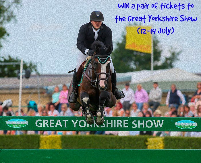 Follow & RT to #WIN a pair of tickets to the Great #Yorkshire Show (12-14 July). Winner drawn at 1pm on 3/6 #GYS2016 https://t.co/ziPLj8JtKr