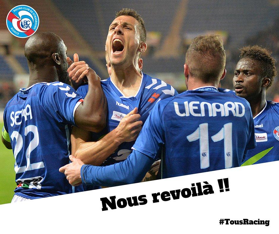 Strasbourg monte en Ligue 2