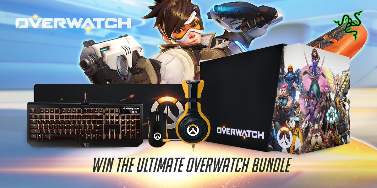 Enter to win the ultimate @PlayOverwatch bundle! A Collector's Edition & Overwatch Razer set https://t.co/TqRCBqGDx5 https://t.co/O86R02MMQ7