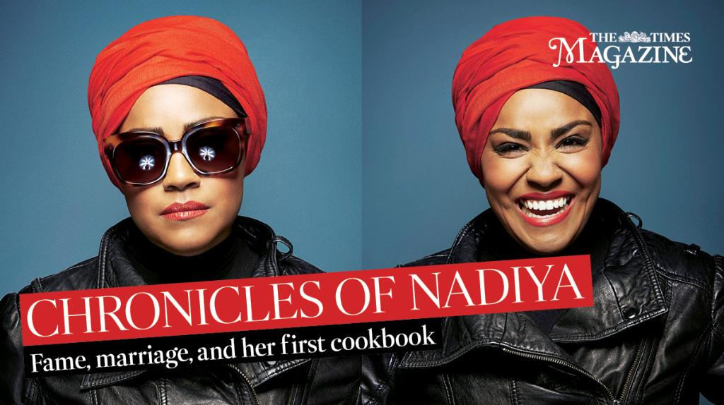 Introducing tomorrow's super chic cover girl, @BegumNadiya. Interview and recipes from her first cookbook inside https://t.co/4c3uukfSuo