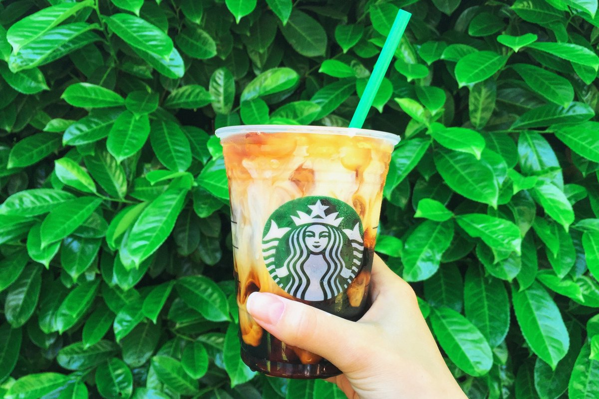 "Starbucks Coffee on Twitter: ""Brewed cold Served iced Swirls nice # ..."