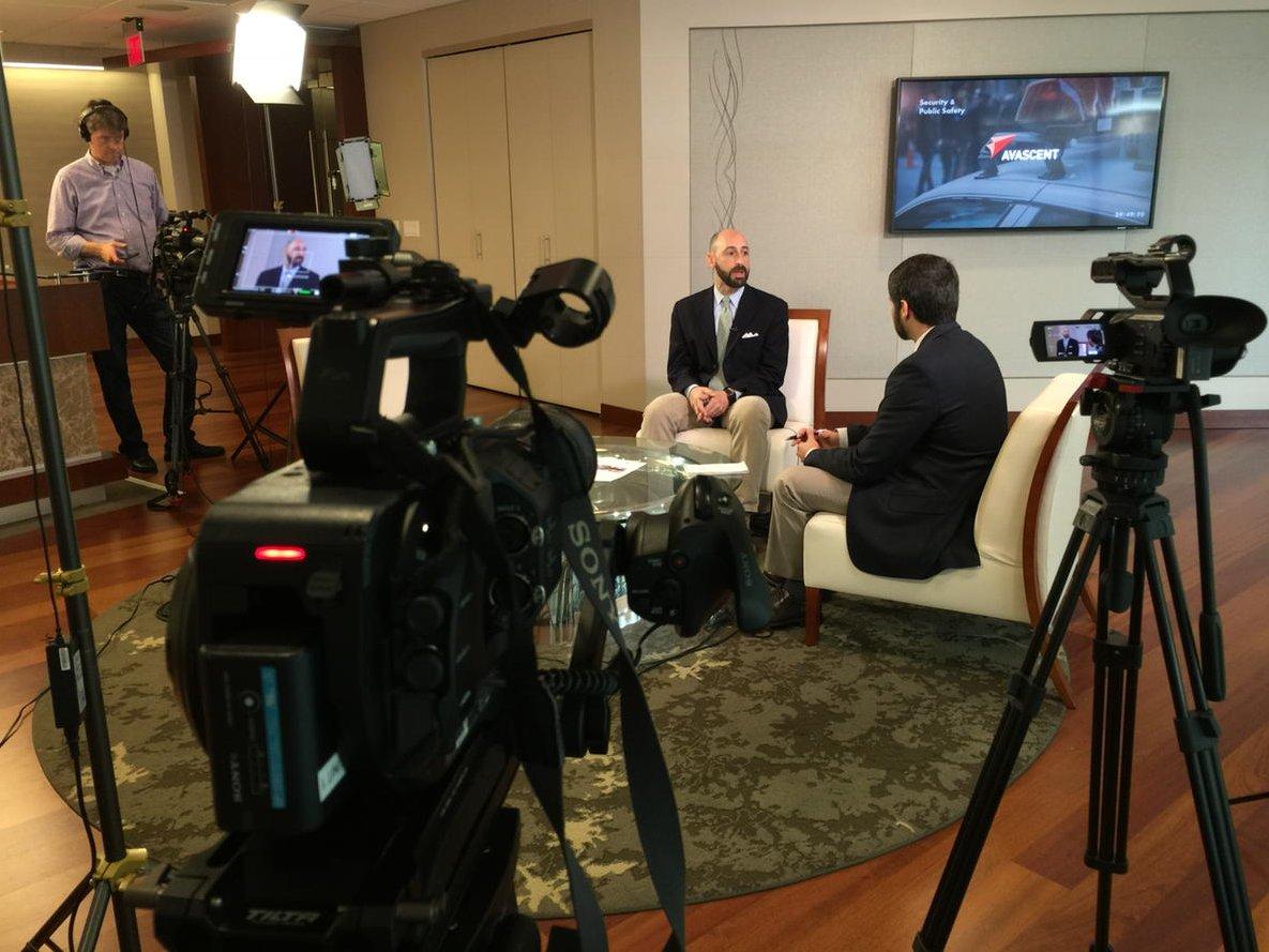 .@avascent @AaronMehta @defense_news interview for Defense News TV, watch next Sunday on ABC7 Washington DC
