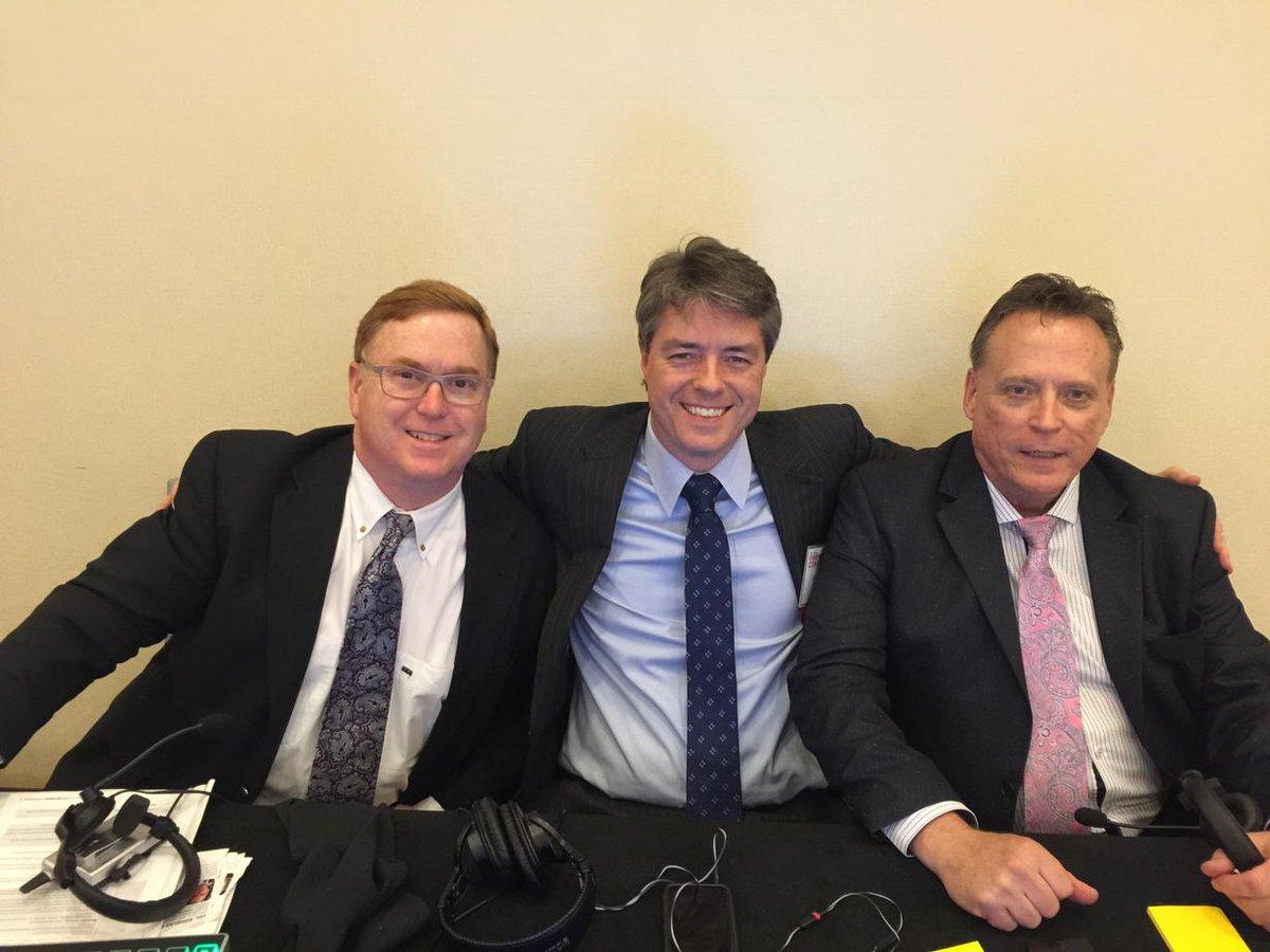 The three Amigos at the C4ISR Conference @calanpix