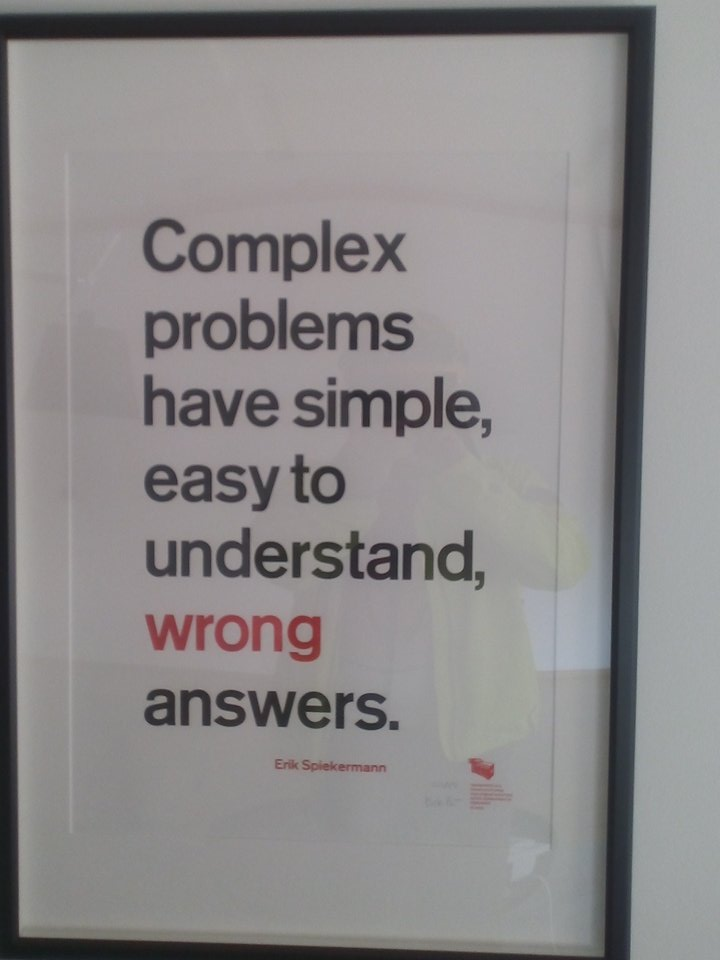 Management summary: complex problems have easy answers. https://t.co/rqXBOPKFtO