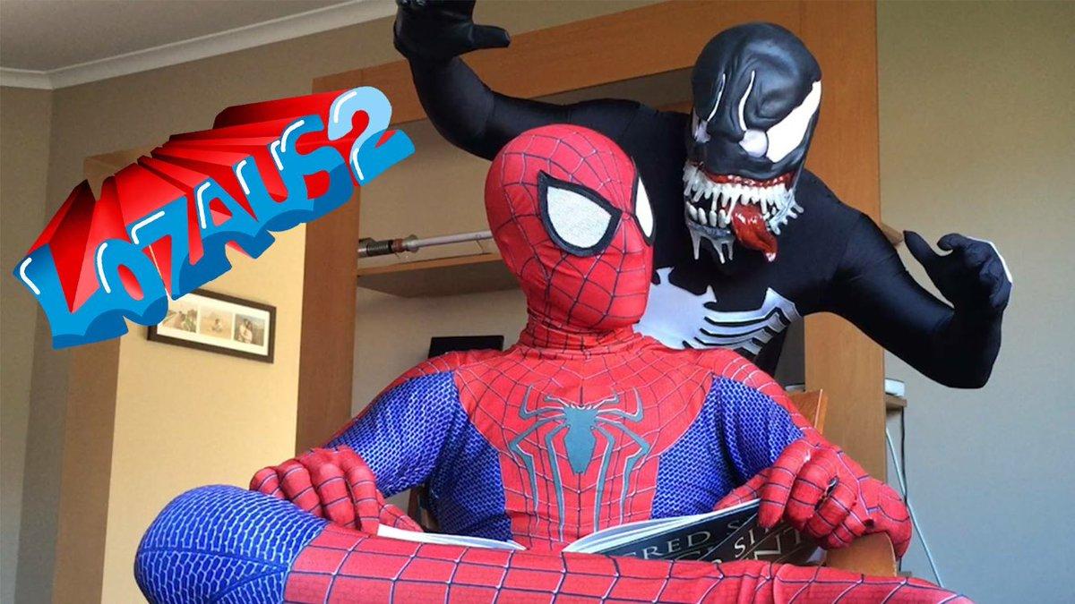 "lozaus1 on twitter: ""latest on the lozaus2 channel. spiderman vs"