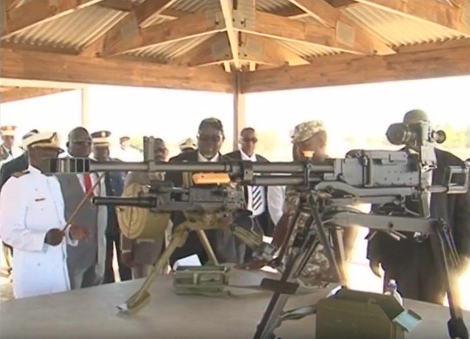 Морская пехота Намибии получила российское стрелковое оружие
