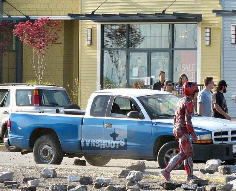 Power Rangers Set Photos 2