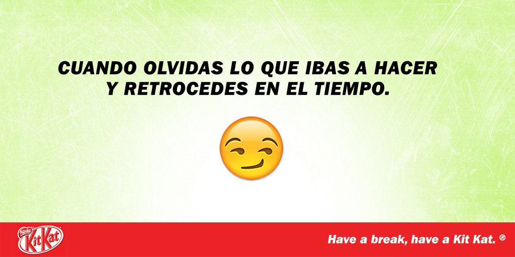 ¡Tomarse ese break no falla! ;) #MyBreak https://t.co/9w2Y7YQZ9l