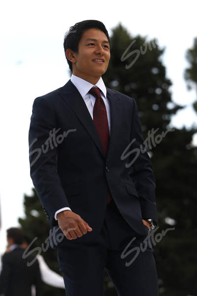 .@RHaryantoracing suited up for the @AmberLoungeLtd #fashionshow @ManorRacing #MonacoGP #F1 https://t.co/KnFbuERvCA