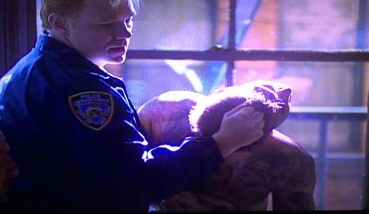 #NUPDBlue S1E8 in 2 minutes... #GW @davidcaruso1 has #RobertLaSardo by the.... Hair...  <br>http://pic.twitter.com/KRc2ipB36y