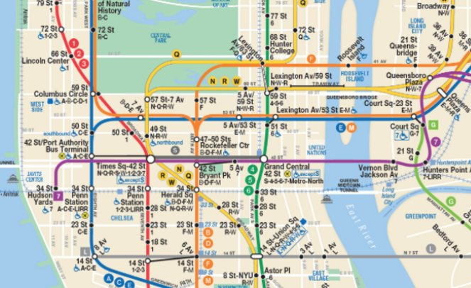 Time Out New York On Twitter New Mta Subway Map Debuts With Second