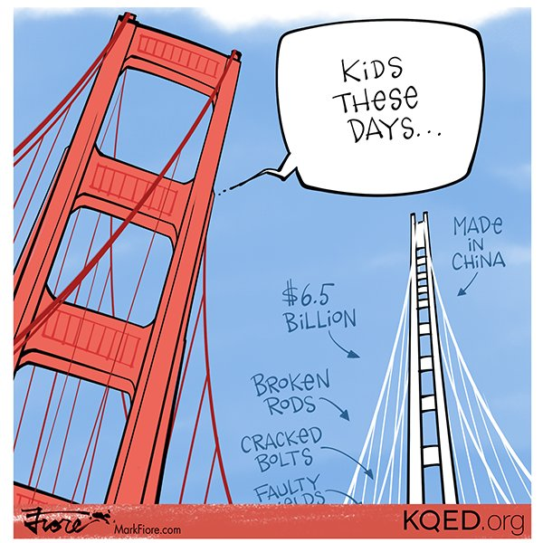 Happy 79th Birthday, Golden Gate Bridge! They don't make them like they used to. #GGBridgeKQED https://t.co/aQFBot9h7t