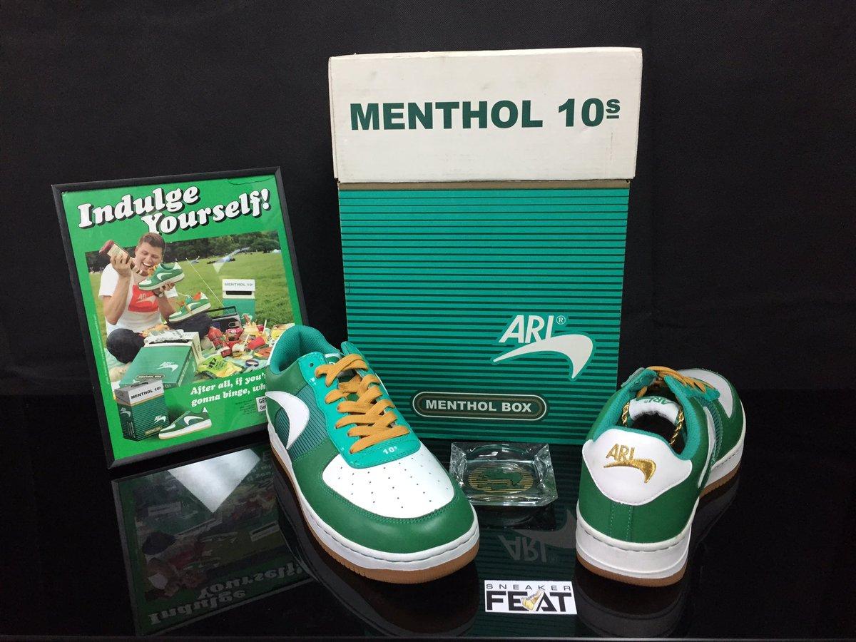 lit.#Nike Af1 Ari Menthol Newport