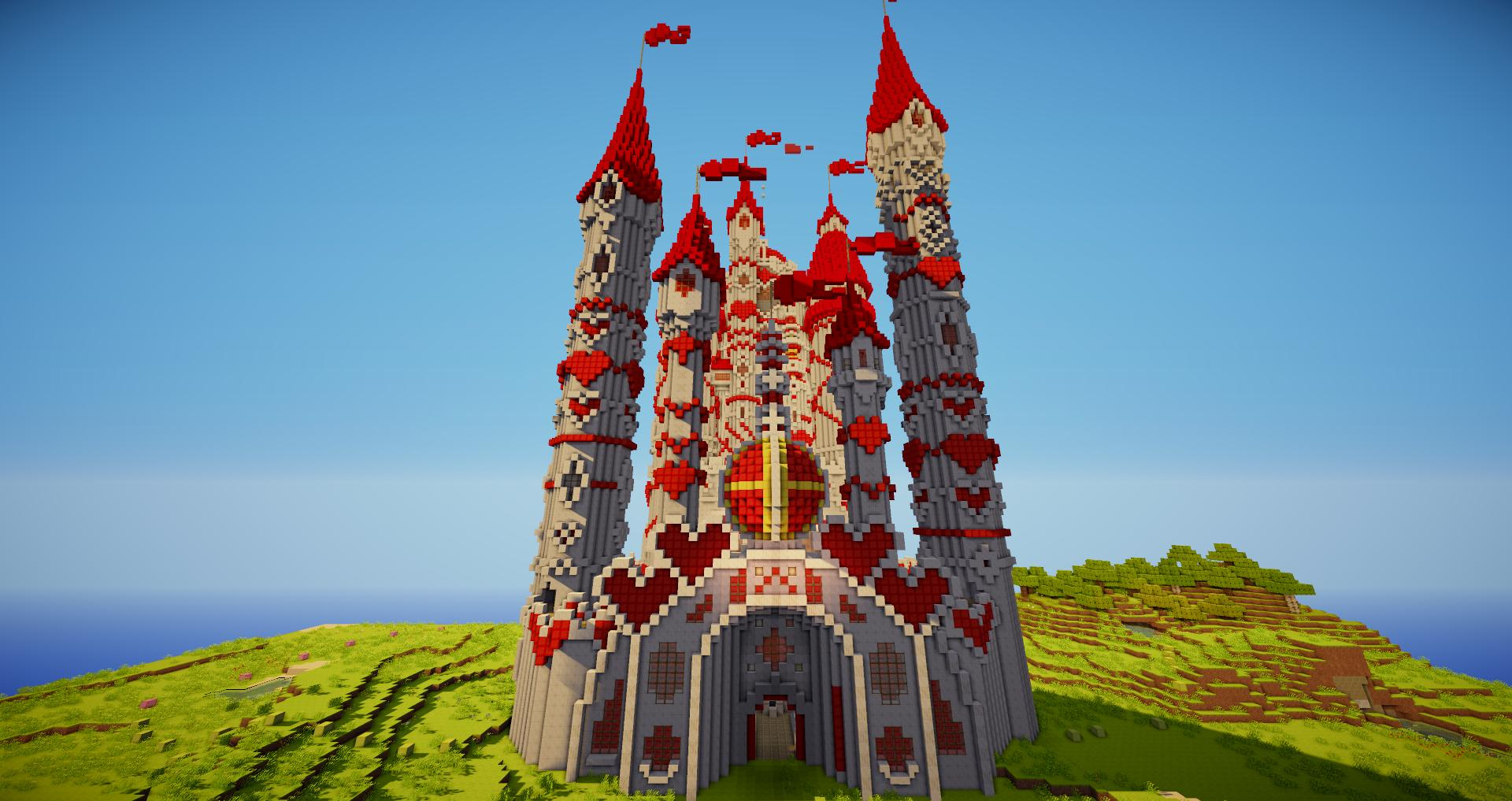 how to build a castle in minecraft smallishbeans