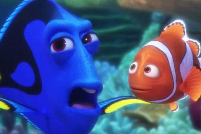 Trouble finds Dory in Band-Aid's new spot #FindingDory  https://t.co/LN7apkXAiw https://t.co/oBPQ9m1gXN