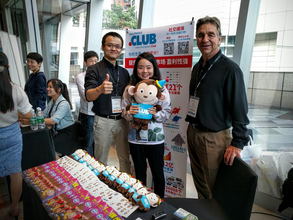 Here at @hostingcon China Shenzhen for .CLUB Domains! @getDotClub @DNAssoc #domainnames https://t.co/0EWybbs100