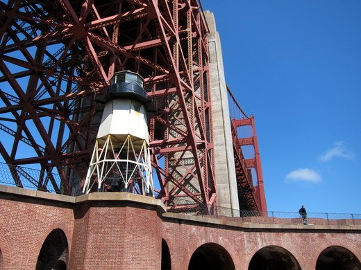 79 years of greatness at the Golden Gate: a view from Fort Point @KQEDscience  #GGBridgeKQED https://t.co/Wj3uMzD6Kv