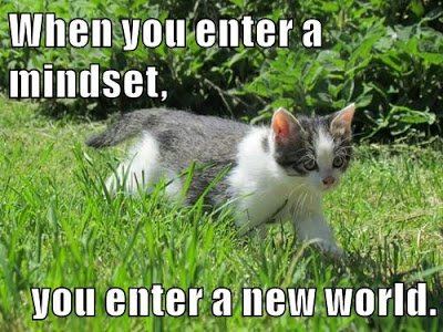 When you enter a mindset, you enter a new world. More cats: https://t.co/JHvFEUnJfQ :-) #GrowthMindset #MindsetPlay https://t.co/Onv9TPUE9M