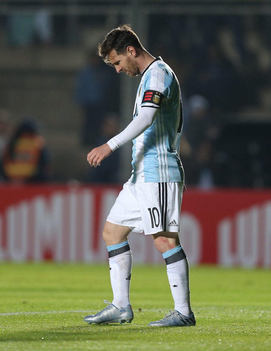 Messi lesionado y se pierde la final